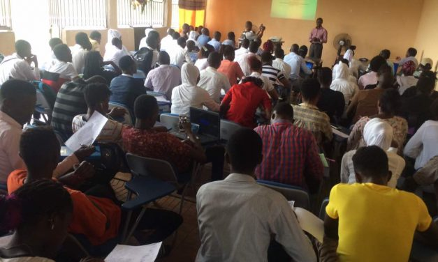 University of Manitoba Professor, Francis Amara thrilled students in Sierra Leone