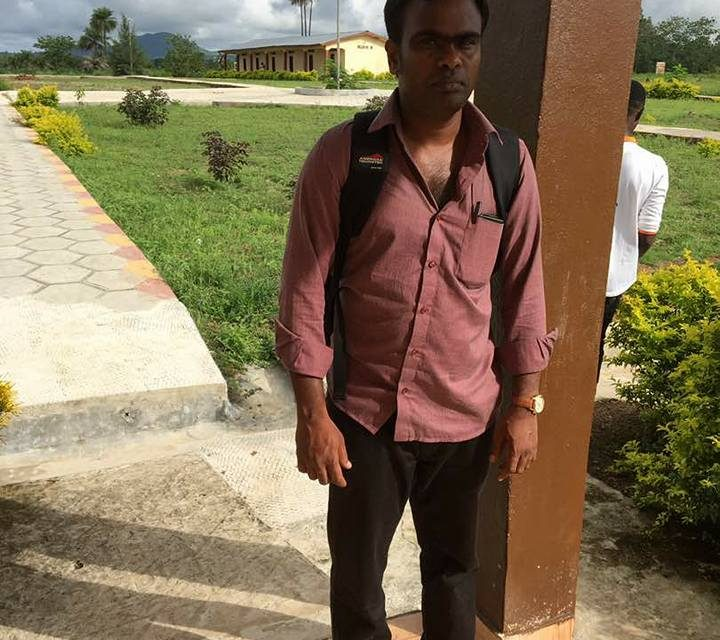 CCMT WELCOMES NEW LECTURER FROM INDIA